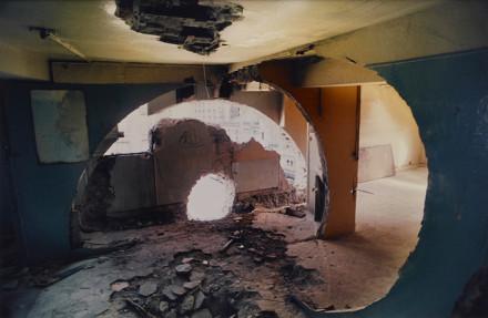 Gordon Matta-Clark, Conical Intersect (1975), via Art Observed
