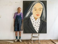 Alex Katz, via New Yorker