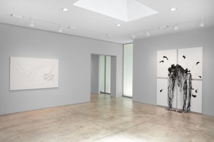 Nicholas Hlobo, Ulwamkelo (Installation View), via Lehmann Maupin