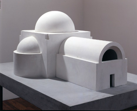 James Turrell, Transformative Space Basilica for Santorini (1991), via Kayne Griffin Corcoran