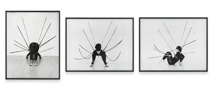 Senga Nengudi, Performance Piece (1978), via Sprüth Magers