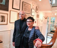 Barbara and Aaron Levine, via Washington Post