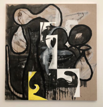 Charline von Heyl, New Work (Installation View), via Art Observed