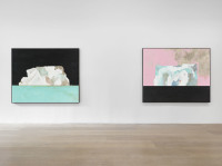 Harold Ancart, Freeze (Installation View), via David Zwirner