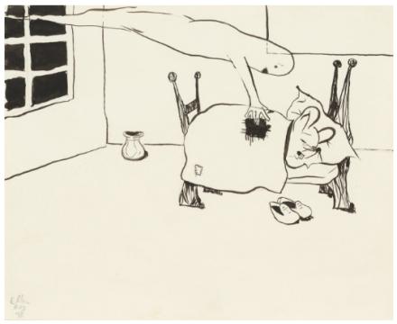 Ellen Berkenblit, Untitled (1990), via Anton Kern
