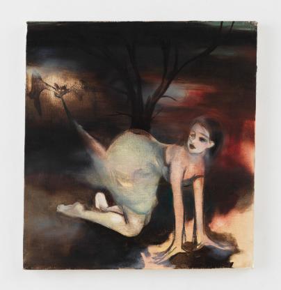 Ellen Berkenblit, Untitled (1993), via Anton Kern