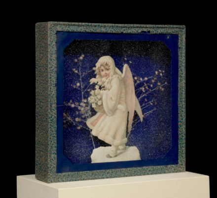 Joseph Cornell, Untitled (The Snow Maiden) (c. 1933), via Levy Gorvy