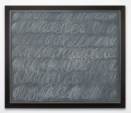 Cy Twombly, Untitled (1967), via Levy Gorvy