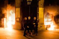 Pyotr Pavlensky arrested, via Artforum