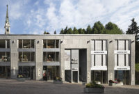 Rendering of Hauser and Wirth in St. Moritz, via Art News