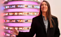 Jenny Holzer, via The Guardian