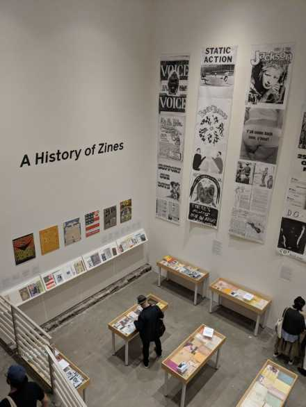 A History of Zines Exhibit, via Art Observed