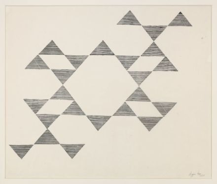 Lygia Pape, Tecelar (1955), All images via Hauser & Wirth.