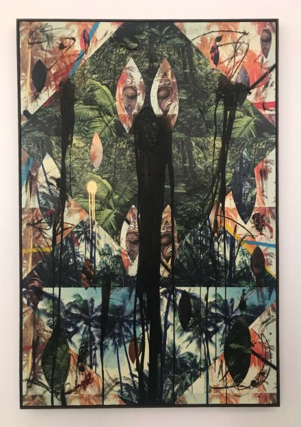 Rashid Johnson, Untitled Escape Collage (2018) at Hauser and Wirth