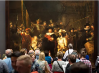 Rembrandt the Night Watch, via The Guardian