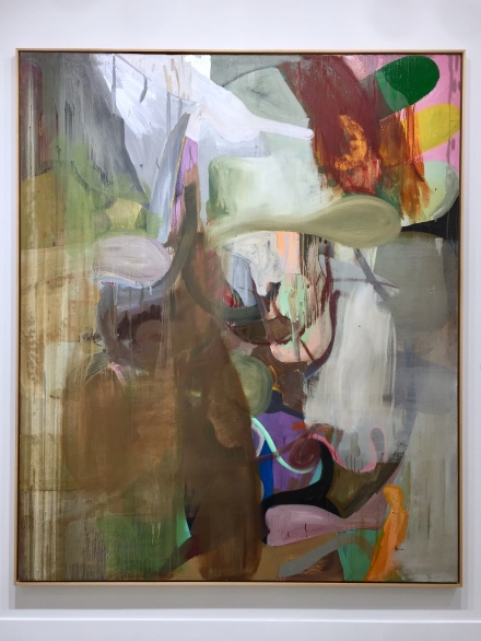 Albert Oehlen, Untitled (1990) at Nahmad Contemporary, via Andrea Nguyen for Art Observed
