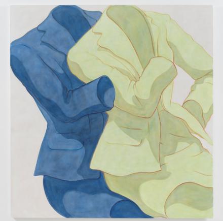 Ivy Haldeman, Chartreuse Suit, 2018
