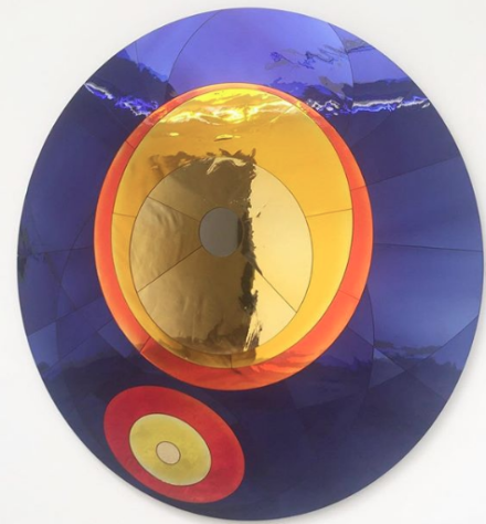 Olafur Eliasson, Flare reflection assembly (2018), via Art Observed