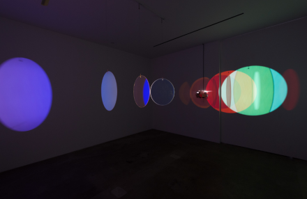Olafur Eliasson, The Speed of Your Attention (Installation View), via Tanya Bonakdar