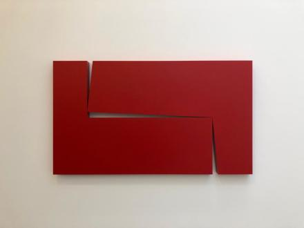 Carmen Herrera, Estructuras (Installation View), via Art Observed