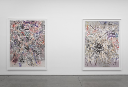 Julie Mehretu, SEXTANT (Installation View), via White Cube