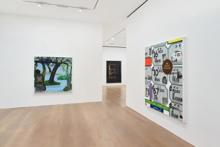 Kerry James Marshall, History of Painting (Installation View), via David Zwirner
