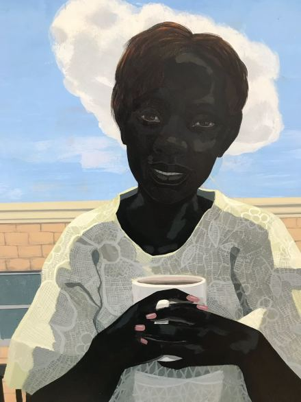 Kerry James Marshall, Untitled (Morning) (2018), via Art Observed