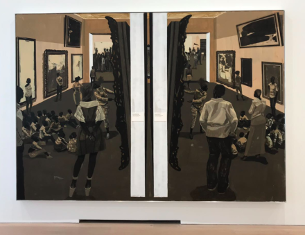 Kerry James Marshall, Untitled (Underpainting) (2018), via Art Observed