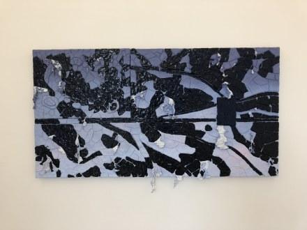 Ajay Kurian, Nine Flags (Installation View), via Art Observed
