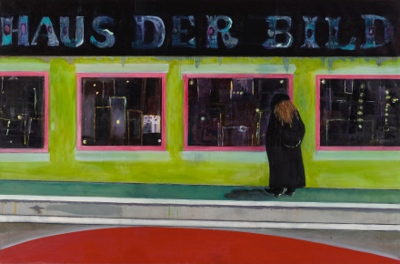 Peter Doig, House of Pictures (2002), via Sotheby's