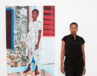 Njideka Akunyili Crosby, via David Zwirner