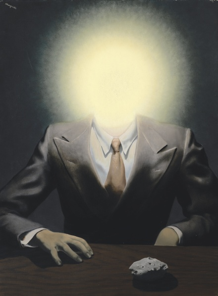 Rene Magritte, The Pleasure Principle (1937) final price $26,830,500, via Sotheby's
