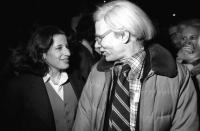 Andy Warhol and Fran Leibowitz, via NYT