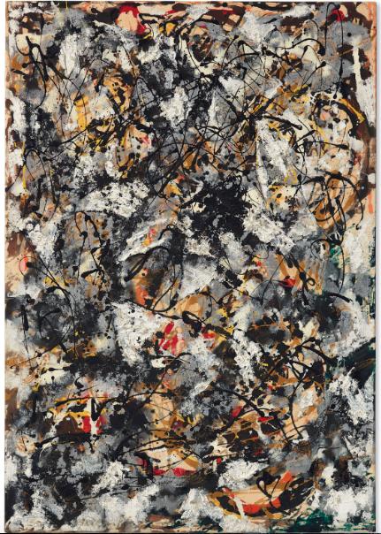 Jackson Pollock, $55,437,500
