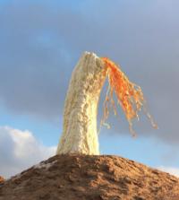 E.Jantsankhorol, Breathe In Breathe Out, 2015, via Art News