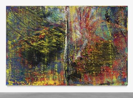 Gerhard Richter, Abstraktes Bild (1987), Final Price $33,604,500 via Sothebys's