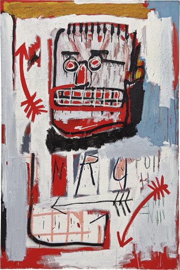 Jean-Michel Basquiat, Untitled (1982), Final Price $8,977,500, via Phillips