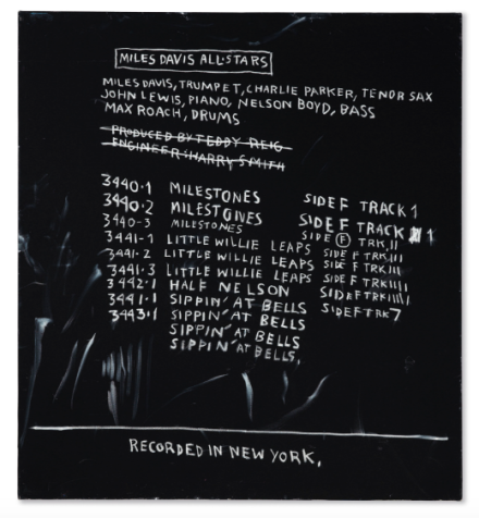 Jean-Michel Basquiat, Discography Two (1983) Final Price $21,687,500, via Christie's
