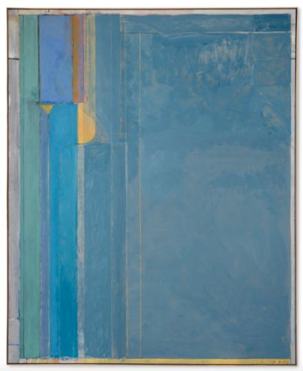 Richard Diebenkorn, Ocean Park #137 (1985) Final Price $22,587,500, via Christie's