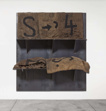 Jannis Kounellis, Untitled (2002), via Cardi Gallery