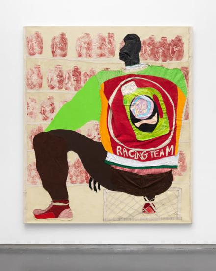 Tschabalala Self, via Thierry Goldberg