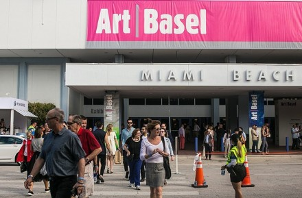 Art Basel Miami Beach, via Miami New Times