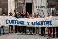 Protests in Cuba, via Artforum