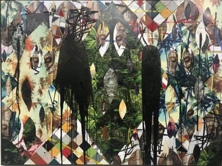 Rashid Johnson at Hauser and Wirth, via Art Observed