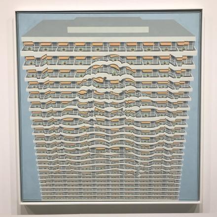 Thomas Bayrle at Gavin Brown, via Art Observed