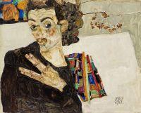 Egon Schiele, via Art Newspaper