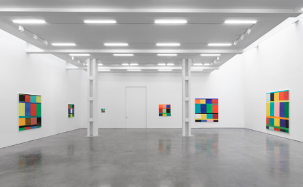 Stanley Whitney, In the Color (Installation View), via Lisson Gallery