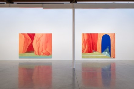 Dan Colen, High Noon (Installation View), via Gagosian