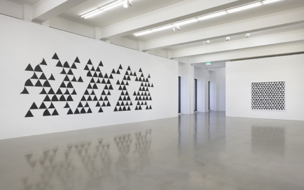 Bridget Riley, Painting Now (Installation View), via Spruth Magers