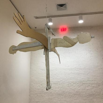 Bruce Nauman, Disappearing Acts (Installation View), via Art Observed